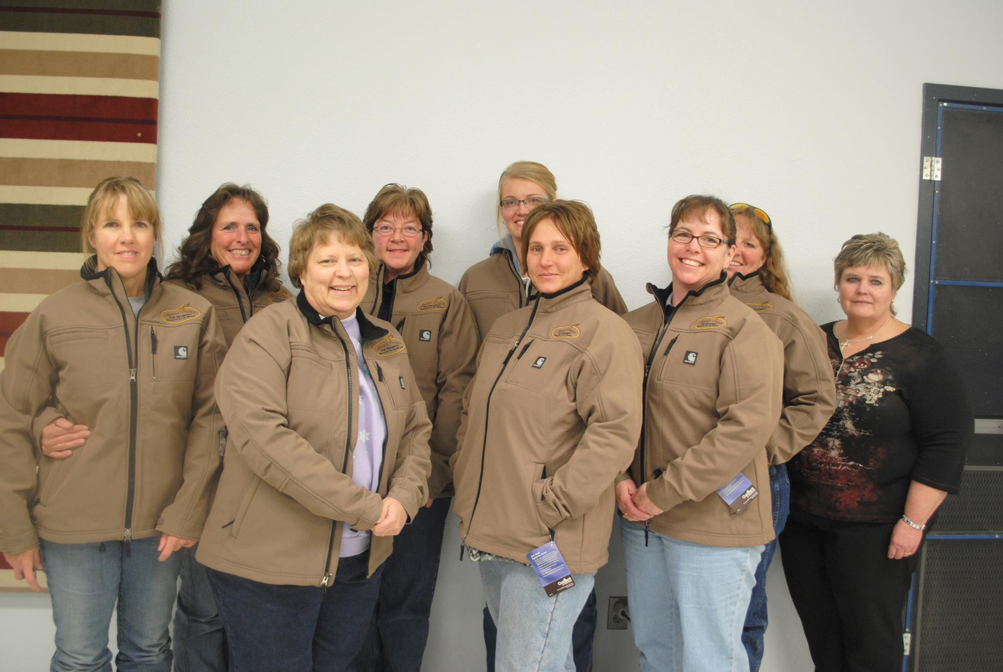 Graduates from the first Annie's Project in Wyoming early this year facilitated by Tammie Jensen.