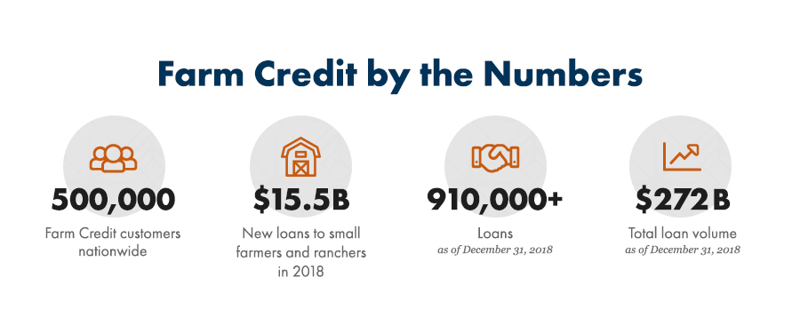 Farm Credit By the Numbers