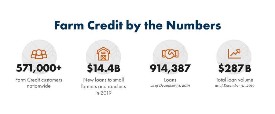 Learn about Farm Credit by the numbers