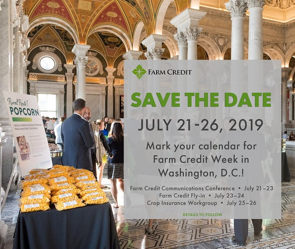 Farm Credit Week in Washington - Save the Date